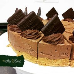 After Eight Chocolate Cheesecake.