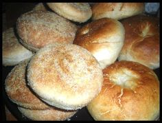 homemade english muffins & bagels