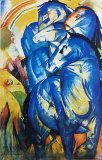 Franz Marc, Tower of Blue Horses