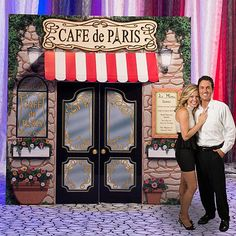 9 ft. 7 in. La Paris Cafe Prop