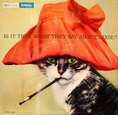 Record Album,Dixie Double Cats - Is It True What They Say About Dixie? (Fox,1959)