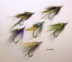 Spey's Hair Wings, Steelhead Flies, Salmon Flies, Fly Tying Patterns, Streamers, Fly Fishing, Model, Ideas, Atlantic Salmon