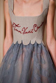 "chelliswilson: ""valentino spring 2015 couture | amor vincit omnia """