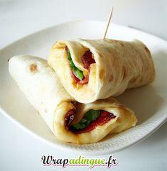 Wrap raclette : fromage, bacon, pomme de terre et salade : la Recette | Wrapadingue