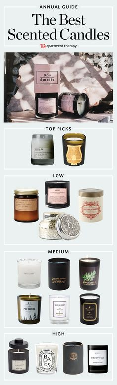 The Best Scented Candles — The Guide 2018