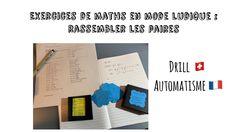Exercice ludique en cours de maths #maths - YouTube Math Class, Exercise