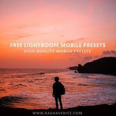 5 Best Free Lightroom Mobile Presets - Download Lightroom Mobile Presets