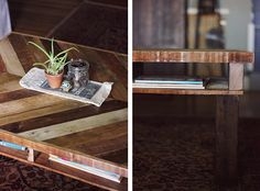 An easy DIY Pallet Coffee Table | The Snug