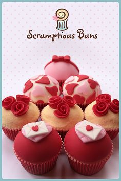 """Valentines Collection 2012 by """"Scrumptious Buns"""""""