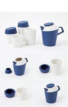 Tea set by Park Soyeon