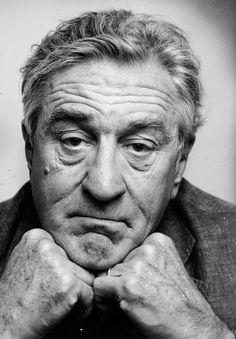Robert De Niro: Time goes on. D… Robert De Niro: Time goes on. Celebrity Photography, Face Photography, Celebrity Portraits, Cinema Tv, Famous Portraits, Foto Art, Black And White Portraits, Interesting Faces, Male Face