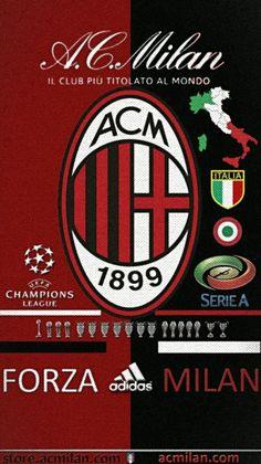 Milan Wallpaper, Thing 1, Football Wallpaper, Ac Milan, Soccer, Sports, Wallpapers, Play, Logo
