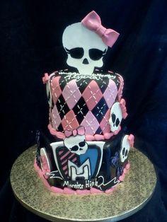 Monster High Cake facebook.com/terrycakessparks