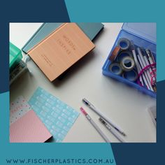 It's back to school time, time to get organised and ready for the year ahead. Fischer Plastics have a wide range of storage solutions, which are perfect for school activities. Our Clear Storage Boxes for example are perfect for carrying pens & pencils.