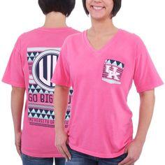 Kentucky Wildcats Pressbox Women's Cheyenne V-Neck T-Shirt - Coral - $24.99