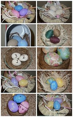 11 ways to decorate plastic Easter eggs..maybe for next year!