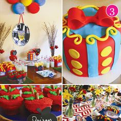 """snow-white-party. Great ideas here. I'm going to have Janel a """"Wicked Queen"""" Halloween party. The cupcakes and mirror would be perfect!!"""