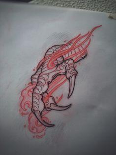 Dragon claw sketch by Akos ( Perth, Australia)