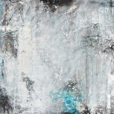 """""""Have you seen the moon tonight?"""" 36""""x36""""x1.5"""" acrylic on canvas, with texture and silver accents"""