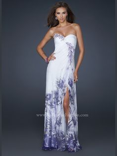 Gorgeous! Need to find a dress for 1 of 2 weddings to attend next year. La Femme 17570.