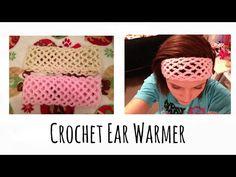 Crochet Ear Warmer Tutorial (EASY) - YouTube