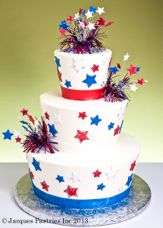 This Independence Day cake really sparkles!
