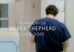 Patrick Dempsey has starred in Grey's Anatomy from 1966-2015 it has been 11 season he has been Dr. Derek Shepherd