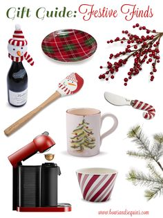 Gift Guide: Festive Finds #bowsgg