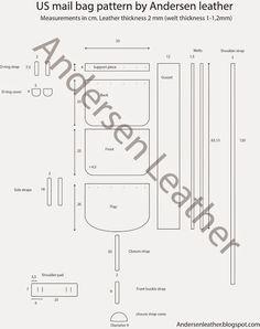 free leather templates - Google Search | Выкройки для Кожи (Leather ...