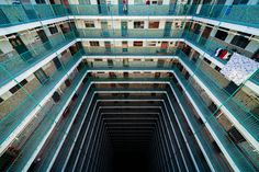 Down Into The Abyss at Oi Man Estate in Ho Man Tin, Kowloon-Peter Stewart photography