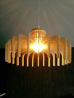 Plywood Pendant Lighting 2 of Bondart от BondartLighting на Etsy