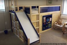 One awesome dad builds his kid and a playground all at once in this DIY math story!
