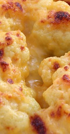 Baked buffalo cauliflower recipe Cauliflower mac and cheeseCauliflower Mac and Cheese SkinnyCauliflowerMacAndCheese HEALTHY CLEANeating Try General Cauliflower {Ever} So FastTry this simple and best vegan recipe from General Tso for cauliflower with Best Cauliflower Recipe, Cauliflower Dishes, Keto Cauliflower, Vegetable Dishes, Frozen Cauliflower Recipes, Cauliflower Mashed Potatoes, Cauliflower Casserole, Cheesy Potatoes, Gourmet Recipes