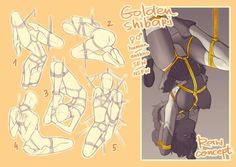 YCH Golden Shibari CLOSED by Rejuch