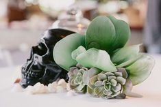 The 'Maritime Goth' Themed Wedding of Jessica & Winston McCall