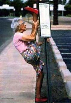 Easy there Grandma