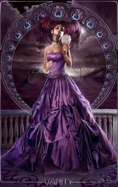 Feminina dos Sete Pecados Capitais...'VAIDADE'