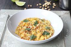 Vegetable Pad Thai with Zucchini Noodles! #zucchininoodles #zucchinipasta