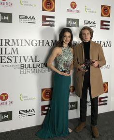 Anton Forsdik Best Young film maker BIRMINGHAM FILM FESTIVAL for film FATE  Award ceremony, Natalie Cutler