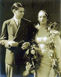The 1929 wedding of Lyricist Oscar Hammerstein, Jr and actress turned interior designer Dorothy Blanchard. The marriage lasted until his death in 1960.