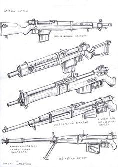 weapons 1, Vasily Khazykov on ArtStation at https://www.artstation.com/artwork/Wlz6y