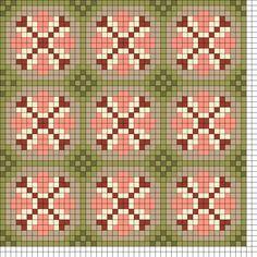 Old Wallpaper 2 perler bead pattern