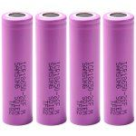 4 PCs of  ICR18650  -  26FM 3.7V 18650 2600mAh Rechargeable Lithium - ion Battery