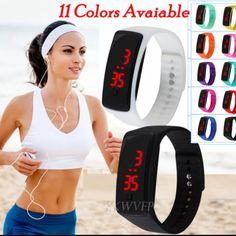 Sport LED Band - Digital Wrist Watch