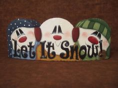 Free Tole Painting Projects | ... www.etsy.com/listing/59731049/snowman-shake-your-flakes-tole-painting