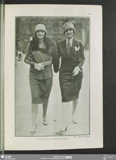 Kurfürstendamm, Berlin, Germany. Revue des Monats, 1.1926/27, H.7, Mai