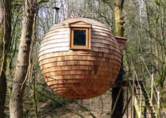 Lost Meadow Treepod | Treehouse in Cornwall | Canopy & Stars