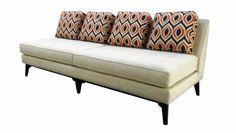 Beautiful Harper Armless Sofa From Mid Century Furniture Designers Antique Geometric Bmid Bcentury Bdresser Bwd