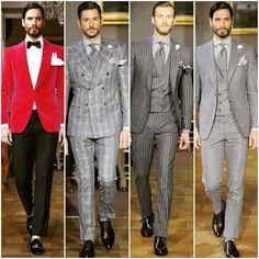 Cifonelli ready to wear collection Sartorialist, Red Blazer, Dress Codes, Dapper, Parisian, Gentleman, Men Dress, Style Me, Ready To Wear