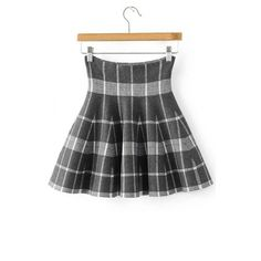 High Rise Women's A-Line Knit Pleated Mini Skirt (1,415 PHP) ❤ liked on Polyvore featuring skirts, mini skirts, short mini skirts, a line mini skirt, short skirts, high waisted mini skirt and knit mini skirt
